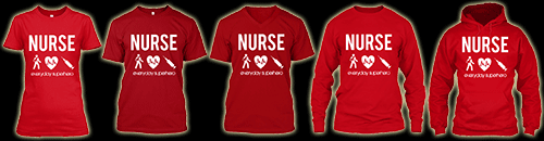 nurse everyday superhero shirts